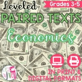 Paired Texts / Paired Passages: Economics Grades 3-5