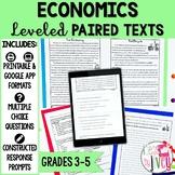 Paired Texts [Print & Digital]: Economics Grades 3-5