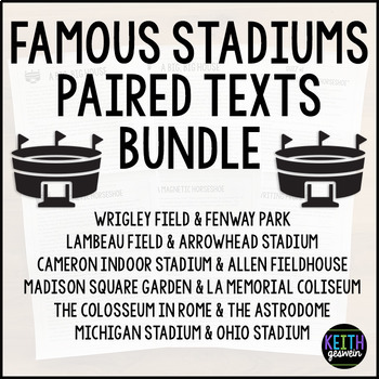 Paired Texts:  Famous Stadiums Bundle