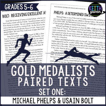 Paired Texts: Michael Phelps and Usain Bolt: Nonfiction Passages
