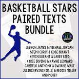 Paired Texts: Basketball Stars Bundle