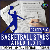 Basketball Paired Texts: LeBron James and Michael Jordan (