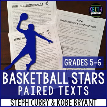 Basketball Paired Texts: Steph Curry and Kobe Bryant: Nonf