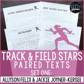 Track and Field Paired Texts: Allyson Felix and Jackie Joyner-Kersee