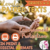 Paired Texts [Print & Digital]: Environment Protection (Di