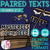 Paired Texts [Print & Digital]: Mysteries of the Deep Gr 2-3