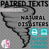 Paired Texts / Paired Passages: Natural Disasters Grades 2-3