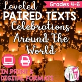 Paired Texts [Print & Digital]: World Celebrations Grades 4-6