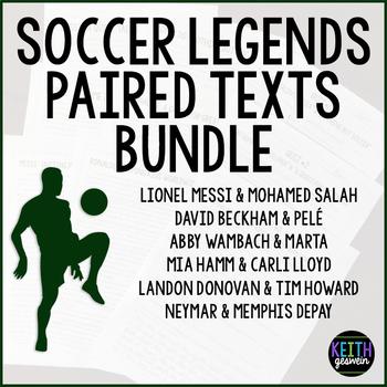 Paired Texts:  Soccer Legends Bundle