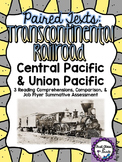 Paired Texts: Transcontinental Railroad (Design a Job Flyer Assessment)