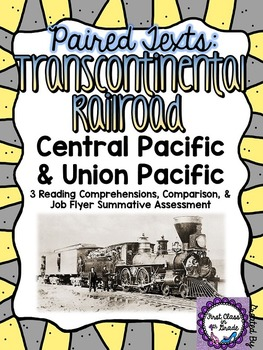 Paired Texts: Transcontinental Railroad (Design a Job Flye