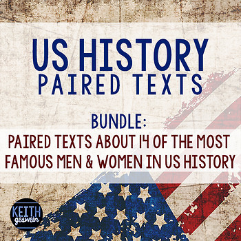 Paired Texts:  US History Bundle
