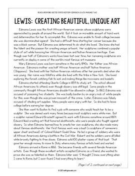 Paired Texts: US History: Edmonia Lewis and Garrett Morgan