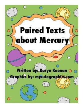 Paired Texts about Mercury