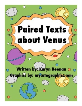 Paired Texts about Venus