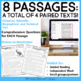 Paired Texts: Nonfiction to Fiction for 4th - 6th Grade   Paired Passages