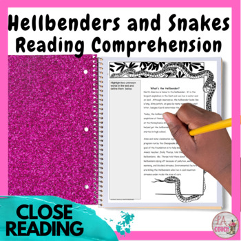 Paired Texts for Middle Schoolers - Hellbenders and Snakes