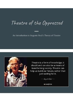 Pairing Night with Theatre of the Oppressed