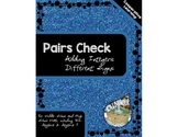 Pairs Check - Adding Integers with Different Signs