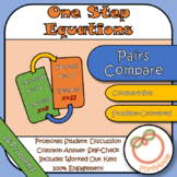 Pairs Compare: Solving One-Step Equations