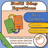 Pairs Compare: Solving Multi-Step Equations
