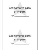 Pairs et impairs (odd and even)