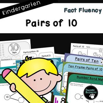 Pairs of 10 (Kindergarten-K.OA.3)