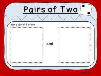 Pairs of 2 (Kindergarten-K.OA.3)