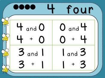 Pairs of 4 (Kindergarten-K.OA.3)