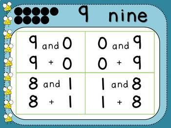 Pairs of 9 (Kindergarten-K.OA.3)