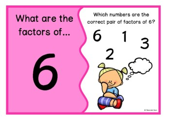Pairs of Factors