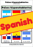Países hispanohablantes: flashcard, Bingo and Domino games