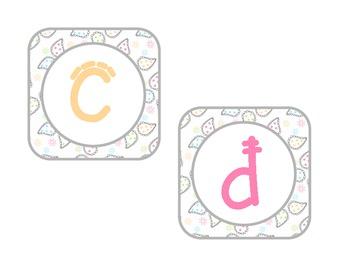 Paisley Alphabet