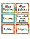 Paisley Labels