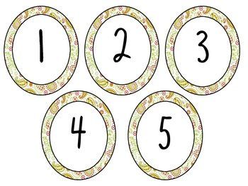 Paisley Numbers 1-100