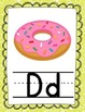 """""""Paisley Print"""" Alphabet Posters and Word Wall Cards"""