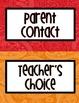 Paisley Print Behavior Clip Chart