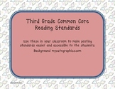 Paisley Third Grade Reading Standards