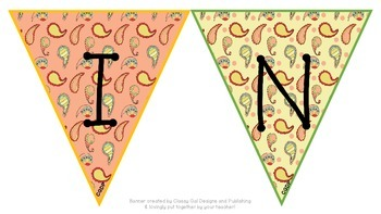 Paisley Writing Center Pennant Banner