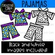 Pajama Clipart {Creative Clips Clipart}