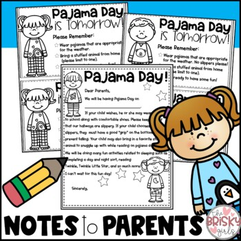 Pajama Day Activities