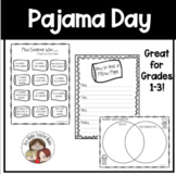 Pajama Day Activities for the Classroom
