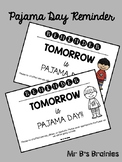 Pajama Day Letter