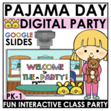 Pajama Day Party Virtual Field Trip Kindergarten Distance Learning Class Party