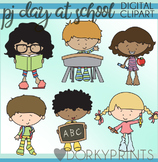 Pajama Day at School Clipart