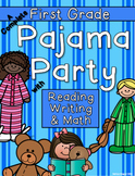 Pajama Party including Reading, Writing, and Math