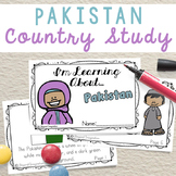 Pakistan Booklet Country Study Project Unit