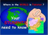 Pakistan: Map Activities