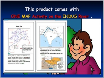 Pakistan: Map Activities