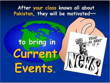 Pakistan Map Activities with Internet Activities